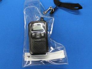 画像4: トランシーバー・無線用防水ケース(小)