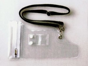 画像1: トランシーバー・無線用防水ケース(小)
