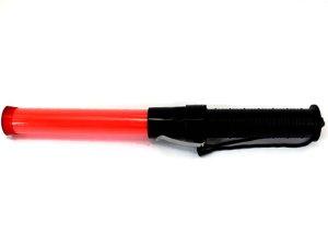 画像1: 誘導灯・信号灯 35.5cm 赤色点滅・点灯 ショートタイプ フック付