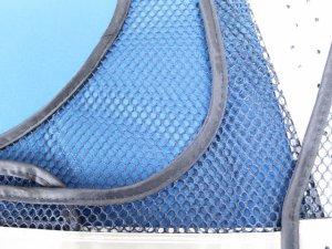 画像4: 夏用 サマーメッシュ安全ベスト ショート丈40cm 紺メッシュxシルバー反射