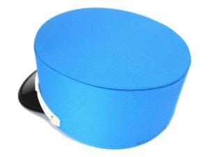 画像2: ドゴール帽 青色(ブルー) 帽章付き