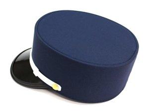 画像2: ドゴール帽 紺色(ダークネイビー) 帽章付き