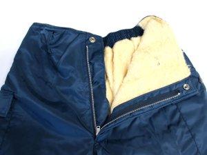 画像3: 防寒ズボン ネイビー 【日本製】