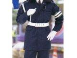 警備 防寒カストロコート ネイビー (7Lサイズまであります)  【日本製】