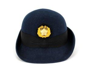 画像3: ハイバック帽 (交)帽章付き