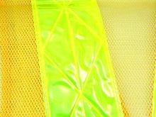 他の写真2: 夜光チョッキ 7cm幅 幅広 黄メッシュ・イエロー反射