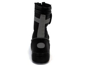 画像2: 安全靴 半長靴マジック式 反射テープ付