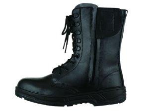 画像3: 安全靴 長編み上げ ファスナー付